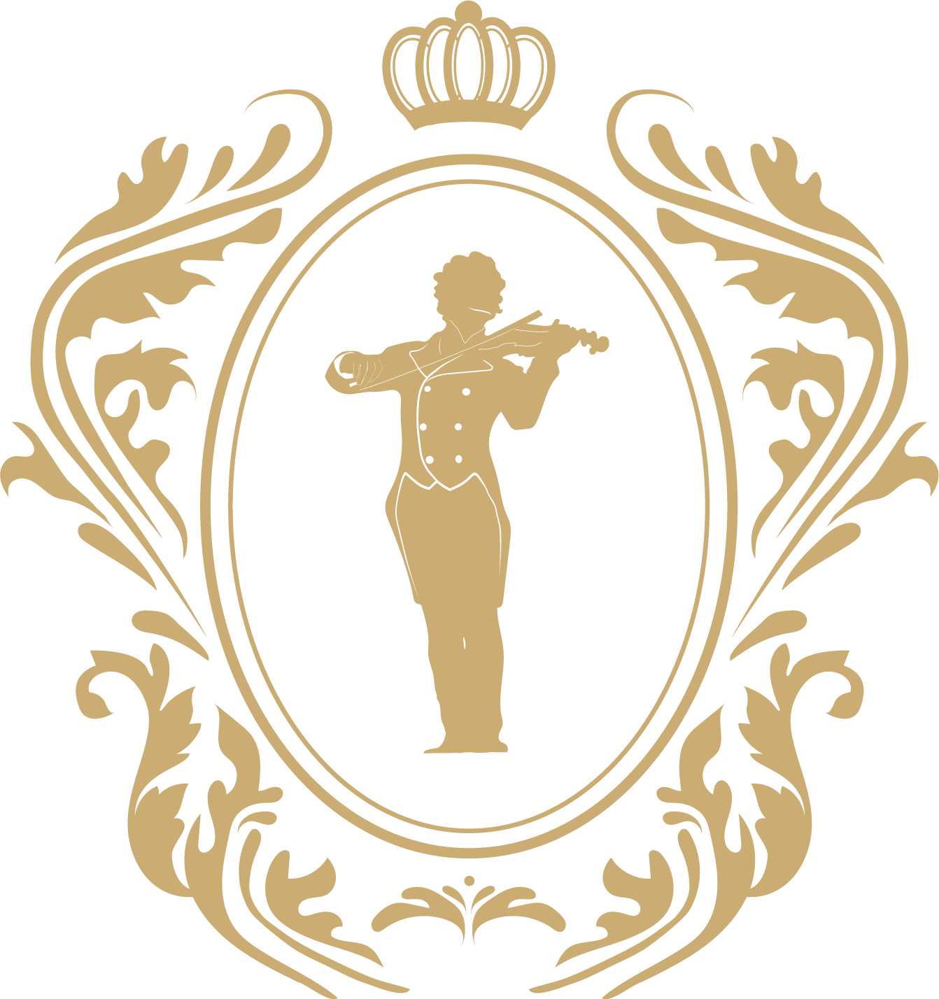 Golden logo - Strauss Capelle Vienna